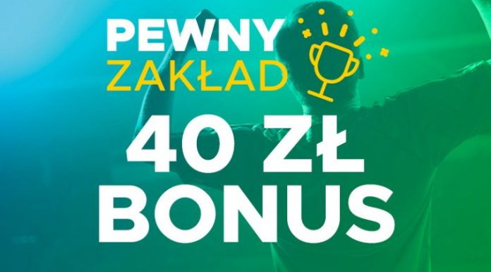 40 złotych bonusu w betclic
