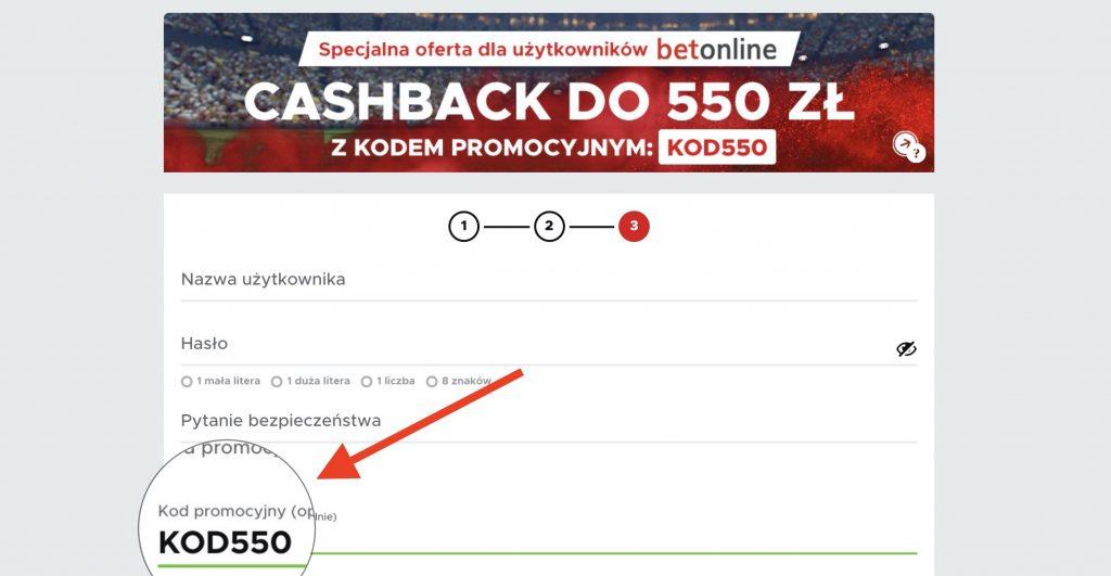 """Super kod promocyjny w Betclic - """"KOD550"""" dla nowych"""
